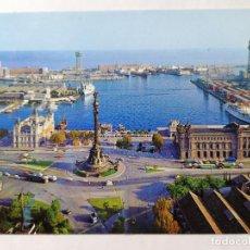 Postales: POSTAL BARCELONA, PUERTA DE LA PAZ, VISTA GENERAL, AÑOS 70. Lote 245381110