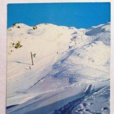 Postales: POSTAL BAQUEIRA - BERET. ESTACION DE ESQUI, VALLE DE ARAN, AÑOS 70. Lote 245381560