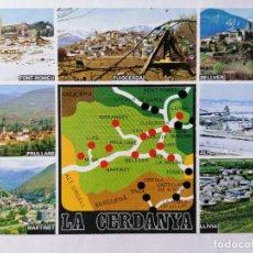 Postales: POSTAL PUIGCERDA, DIVERSOS ASPECTOS, AÑOS 70. Lote 245382060