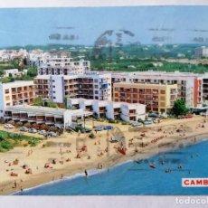 Postales: POSTAL CAMBRILS, TARRAGON A, PLAYA, AÑOS 60. Lote 245513350