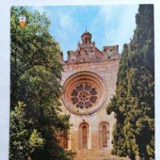 Postales: POSTAL TARRAGONA, MONASTERIO DE SANTES CREUS, AÑOS 70. Lote 245515650