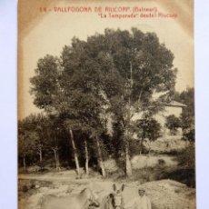 Postales: P-12249. VALLFOGONA DE RIUCORP (TARRAGONA). BALNEARI. LA TEMPORADA. CIRCULADA. THOMAS. AÑO 1916.. Lote 245959105