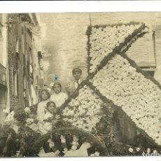 Postales: (PS-64661)POSTAL FOTOGRAFICA DE FALSET-BATALLA DE FLORS 1916. Lote 246032635