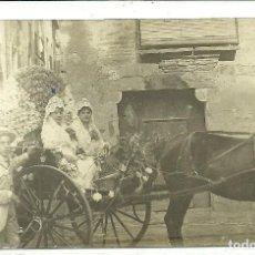 Postales: (PS-64663)POSTAL FOTOGRAFICA DE FALSET-BATALLA DE FLORS 1916. Lote 246032760