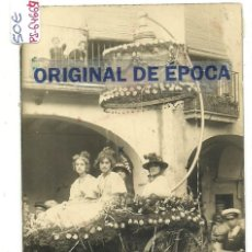 Postales: (PS-64664)POSTAL FOTOGRAFICA DE FALSET-BATALLA DE FLORS 1916. Lote 246032785