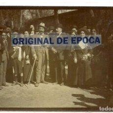 Postales: (PS-64673)FOTOGRAFIA ALBUMINA ORFEO TARRAGONI A MADRID 1912. Lote 246033770