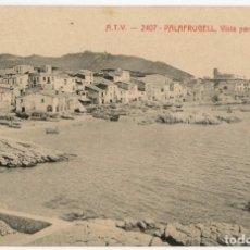 Postales: A06535 CALELLA DE PALAFRUGELL VISTA PARCIAL DE CALELLA ATV Nº2407 ESCRITA. Lote 246143135