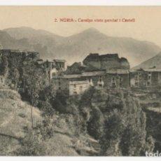 Postales: A06546 NURIA CARALPS VISTA PARCIAL I CASTELL ROISIN Nº2 ESCRITA. Lote 246147240