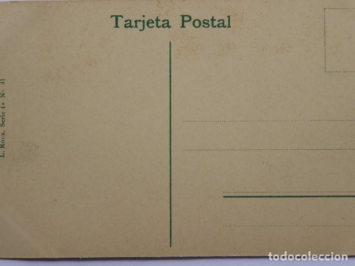 Postales: P-12286. MONTSERRAT. SALIDA DEL TREN DE CREMALLERA. FOT. L. ROCA. NO CIRCULADA. PPIOS. SIGLO XX. - Foto 3 - 246532600