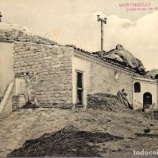 Postales: P-12287. MONTSERRAT. RESTAURANT DE S. JERONIMO. FOT. L. ROCA. NO CIRCULADA. PPIOS. SIGLO XX.. Lote 246534090