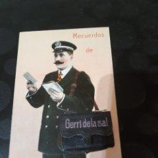 Postales: POSTAL RECUERDO DE GERRI DE LA SAL. Lote 246548850