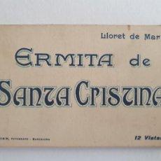 Postales: LLORET DE MAR - SANTA CRISTINA - 12 POSTALES - P47896. Lote 247328830