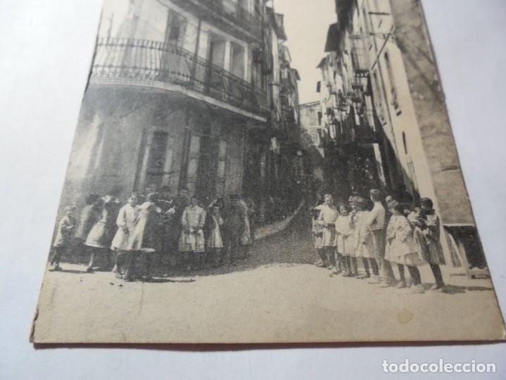 Postales: magnifica antigua postal de tremp calle peresall - Foto 3 - 247780380