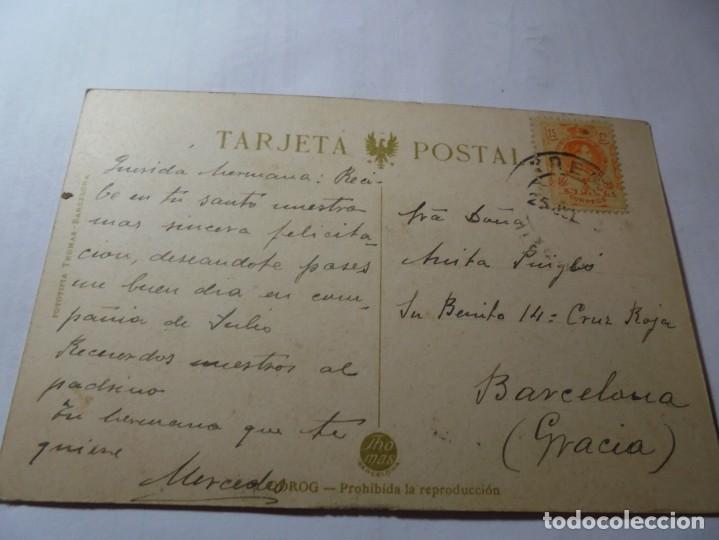 Postales: magnifica antigua postal de tremp calle peresall - Foto 4 - 247780380