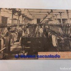 Postales: ANTIGUA POSTAL SERIE FÁBRICA SALADRIGAS FREIXA. POBLE NOU. BARCELONA. Nº 2. Lote 248567765