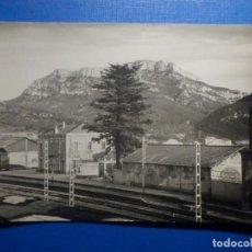 Postales: POSTAL - MARSÁ - ESTACIÓN DE FERROCARRIL - LAMOLA - TARRAGONA - RAYMOND - ESCRITA. Lote 251476035