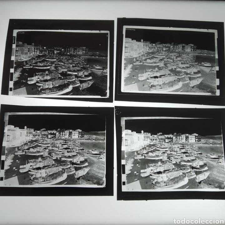 Postales: ¡IRREPETIBLE! La Escala, Playa de Pescadores, Ed. PERGAMINO - Lote clichés imprenta + postal - Foto 12 - 251963995