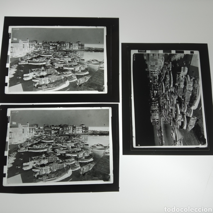 Postales: ¡IRREPETIBLE! La Escala, Playa de Pescadores, Ed. PERGAMINO - Lote clichés imprenta + postal - Foto 13 - 251963995