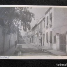Postales: LLINAS-CALLE SANTIAGO RUSIÑOL-POSTAL PROTOTIPO ARCHIVO FOTOGRAFICO ROISIN-VER FOTOS-(79.209). Lote 252189915