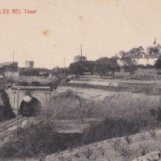 Cartes Postales: BARCELONA, MOLINS DE REY, TÚNEL. ED. FOTOTIPIA THOMAS Nº 11. Lote 252553980