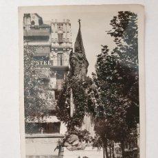 Postales: BARCELONA - ONZE DE SETEMBRE DE 1950 - MONUMENT A RAFAEL CASANOVA I COMES - P48661. Lote 252967150