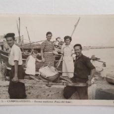 Postales: CAMBRILS - PESCA DEL ATÚN - TARRAGONA - P48676. Lote 252971655