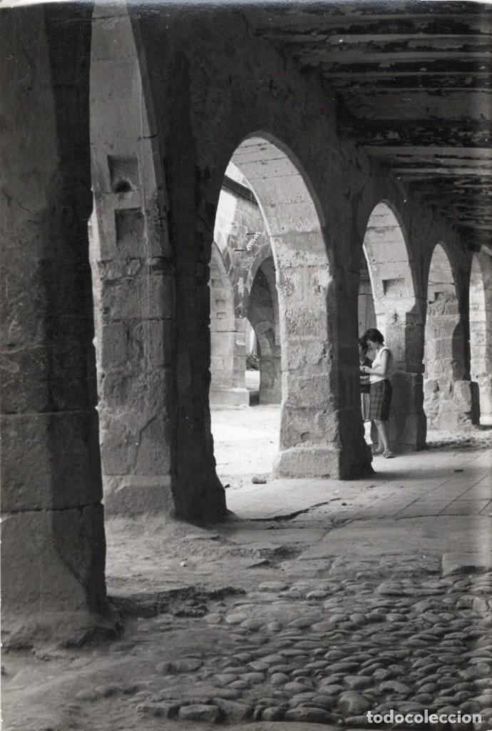 HORTA DE SAN JUAN. ARCADAS PLAZA IGLESIA. RALLO (Postales - España - Cataluña Moderna (desde 1940))