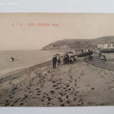Cartes Postales: CALELLA - PLAYA - A.T.V. 3743 - LCC2 - P48704. Lote 253002415