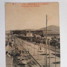 Postales: HOSPITALET DE LLOBREGAT - RAMBLA JUST OLIVERAS - A.T.V. 3765 - LCC2 - P48706. Lote 253003865