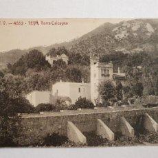 Postales: TEIÀ - TORRE CALCAGNO - A.T.V. 4552 - LCC2 - P48707. Lote 253004215