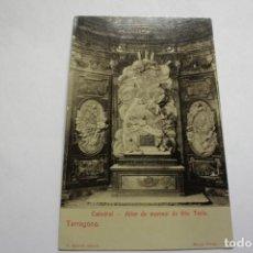 Postales: TARRAGONA. ALTAR DE MARMOL DE STA. TECLA. FOTOGRF. MARSAL. Lote 253432725