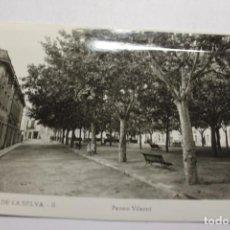 Postales: CASSA DE LA SELVA. 8 PASEO VILARET. EDIT. LAJAIME. Lote 253442805