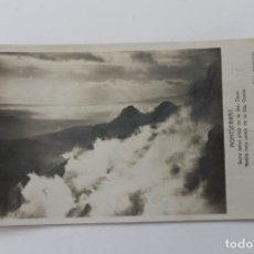 Postales: POSTAL MONTSERRAT NIEBLA BAJA CERCA DE LA STA. CUEVA, 1945 FOTO ZEKOWITZ. Lote 253617055