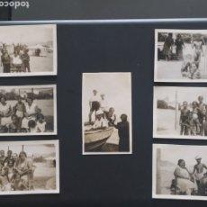 Postales: 7 FOTO POSTALES - SITGES - JUNIO 1930 (6,5X11CM). Lote 253899160