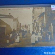 Postales: (PS-64794)POSTAL FOTOGRAFICA DE SAN LORENZO DE HORTONS-CALLE MAYOR.J.B.. Lote 254028260