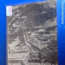 Postales: (PS-64818)POSTAL FOTOGRAFICA DE CAPDELLA-TUBERIA Y FUNICULAR. Lote 254037720
