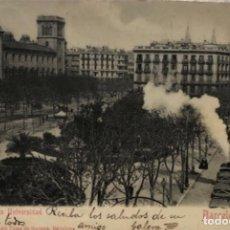 Postales: POSTAL DE BARCELONA 1905. Lote 254038865