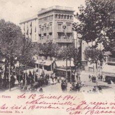Cartes Postales: BARCELONA, RAMBLA DE LAS FLORES. ED. CARLOS SCHOENFELD Nº 2. SIN DIVIDIR VER REVERSO. Lote 254051545