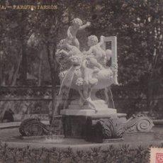 Cartes Postales: BARCELONA, PARQUE, JARRON. ED. LB, LUIS BARTRINA Nº 32. FOTOGRAFICA. CIRCULADA EN 1907. Lote 254056215