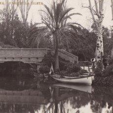 Cartes Postales: BARCELONA, PARQUE, LA ISLETA. ED. LB, LUIS BARTRINA Nº 96. FOTOGRAFICA. SIN CIRCULAR. Lote 254057225