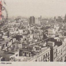 Postales: BARCELONA VISTA PACIAL 1928 POSTAL CIRCULADA. Lote 254140385