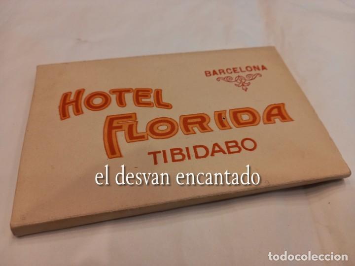 HOTEL FLORIDA. TIBIDABO. BARCELONA. ANTIGUO BLOC O ACORDEÓN (Postales - España - Cataluña Antigua (hasta 1939))