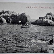 Postales: POSTAL MUY ANTIGUA - S. FELIU DE GUIXOLS - SACAINS (A.T.V. 3038) - SIN CIRCULAR. Lote 254281945