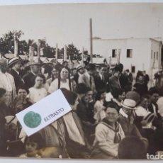 Postales: ANTIGUA POSTAL FOTOGRAFICA DE VILANOVA AGOST 1922 VILLANUEVA VILANOVA Y GELTRU. Lote 254331065