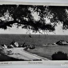 Postales: POSTAL FOTOGRAFICA ANTIGUA -TOSSA DE MAR - PLAYA DE LA PALMA (ED. GARRIGA ) SIN CIRCULAR. Lote 254569995