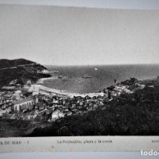 Postales: POSTAL FOTOGRAFICA ANTIGUA -TOSSA DE MAR - POBLACION Y PLAYA (ED. GARRIGA ) SIN CIRCULAR. Lote 254629725