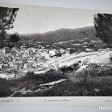 Postales: POSTAL FOTOGRAFICA ANTIGUA -TOSSA DE MAR - VISTA DESDE EL FARO (ED. GARRIGA ) SIN CIRCULAR. Lote 254630425