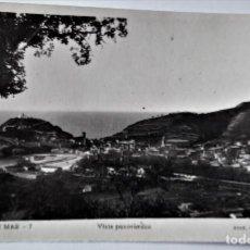 Postales: POSTAL FOTOGRAFICA ANTIGUA -TOSSA DE MAR - VISTA PANORAMICA (ED. GARRIGA ) SIN CIRCULAR. Lote 254631150