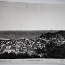 Postales: POSTAL FOTOGRAFICA ANTIGUA -TOSSA DE MAR - ASPECTO DE LA POBLACION (ED. GARRIGA ) SIN CIRCULAR. Lote 254632385