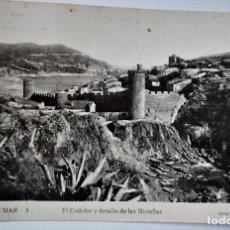 Postales: POSTAL FOTOGRAFICA ANTIGUA -TOSSA DE MAR - EL CODOLAR Y MURALLAS (ED. GARRIGA ) SIN CIRCULAR. Lote 254633515